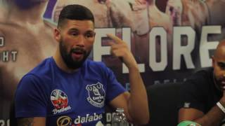 BELLEW VS FLORES FULL POST FIGHT PRESS CONFERENCE confused over which round the fight ended