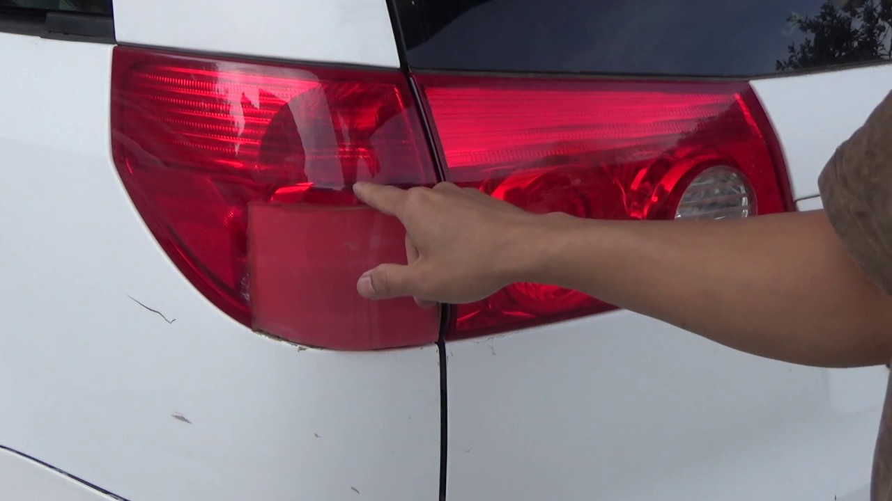 Diy Toyota Sienna 2004 2010 Tail Light Embly And Bulbs Replacement