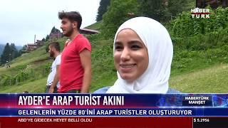 Ayder'e arap turist akını
