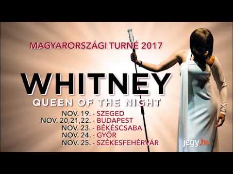 WHITNEY – Queen of the night Turné -...