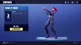 Fortnite Make It Rain Remix Emote 10 hour Beat