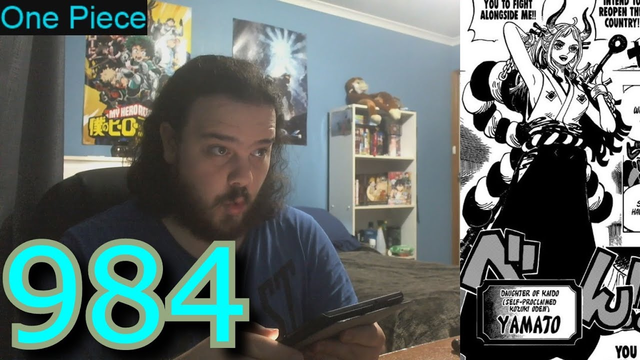 One Piece Chapter 984 Reaction - YouTube