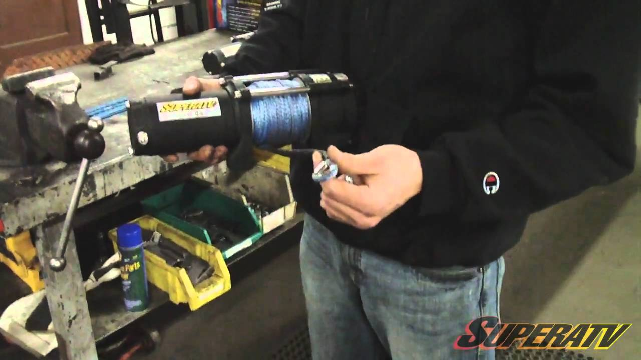 Super Atv Winch Wiring Diagram Free Download Polaris Solenoid Rzr Xp 900 3500 Lb Install Youtube