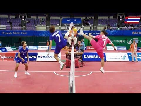 ตะกร้อหญิง ไทย-เวียดนาม Group B 2014 ASIAN GAMES [Semifinal]