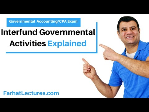 Interfund Governmental Activities | Governmental Accounting | CPA exam FAR