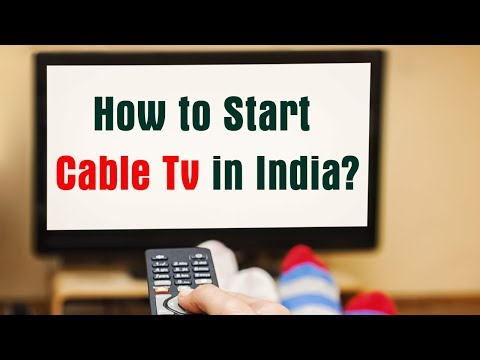 How register cable tv in India ?