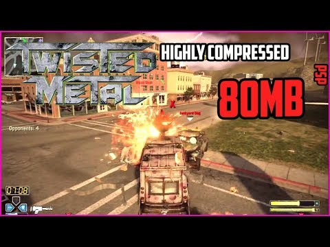 [80MB]Twisted Metal For PSP DOWNLOAD IN HIGHLY COMPRESSED VERSION