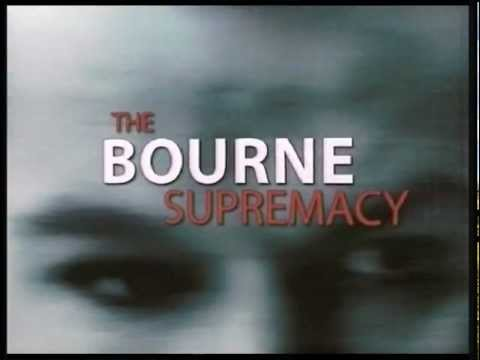 The Bourne Supremacy - Trailer italiano