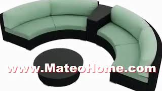 Curved Sectional Sofa Furniture Ideas For Small Spaces
