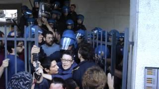 Polizia VS Diritto alla casa - Sfratto Corso Cosenza