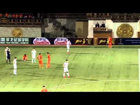 Asian WCQ 2018 - Bhutan vs China 16/06/2015 Full Match