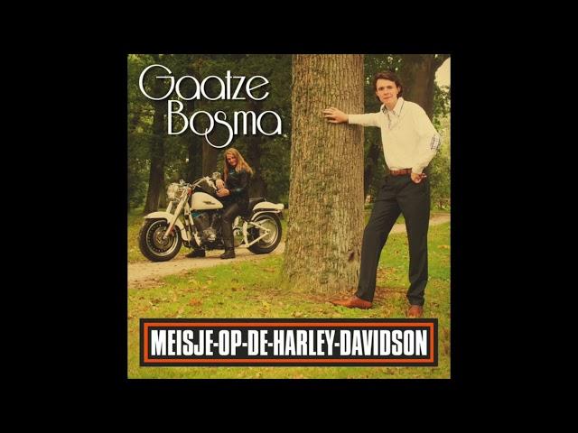 Gaatze Bosma - Meisje Op De Harley Davidson