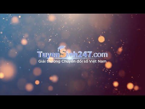 Tuyensinh247.com nhận Giải thưởng Chuyển đổi số Việt Nam năm 2020