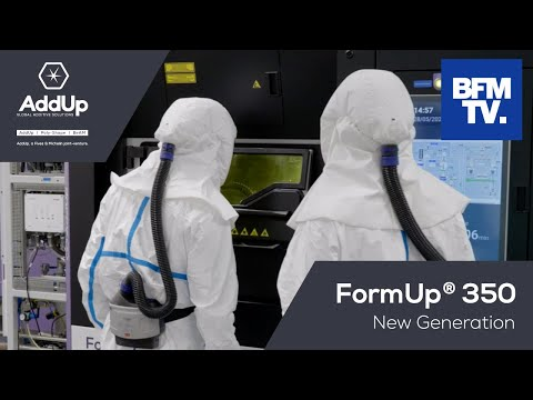 AddUp launches the FormUp 350 New Generation in BFMTV Business online