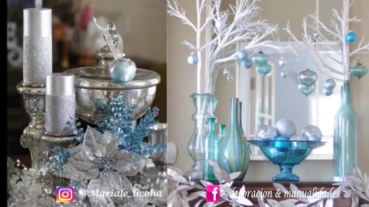 ❄Decoración Navideña ❄ Navidad Azul ❄ Apuesta por este color ❄