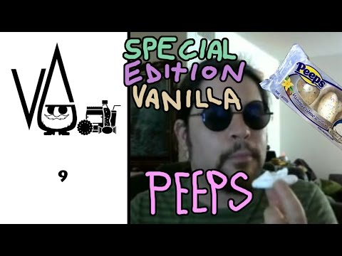 Vanilla Peeps limited edition  ( candy  review ) with Gnome