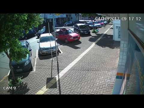Veja o vídeo do momento do acidente com vítima fatal em São Miguel