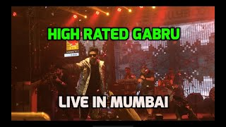 Guru Randhawa Live in Mumbai 2018 | High Rated Gabru Entry