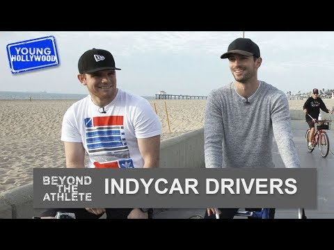 IndyCar's Alexander Rossi & Conor Daly: Bike Rides & Beach Volleyball!