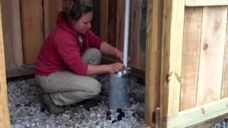 Deep Well Hand Pump Installation Simple Pump April 2013