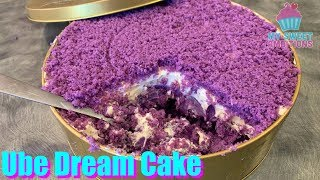 Ube Dream Cake - mysweetambitions