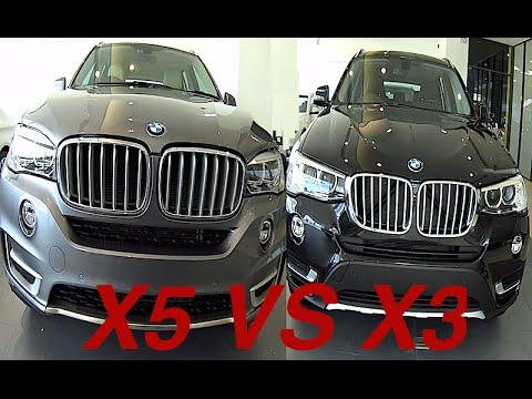 BMW X series - 2015, 2016 BMW X5 VS BMW X3 interior ...