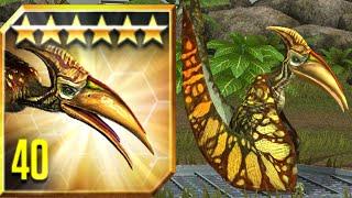 New VIP Dinosaur PTERODACTYLUS - Jurassic World™: The Game