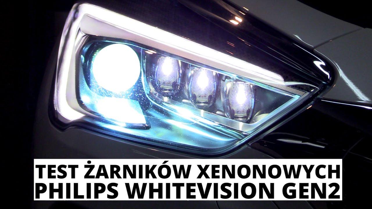 Testujemy żarówki Część 2 Philips Xenon Whitevision Gen2