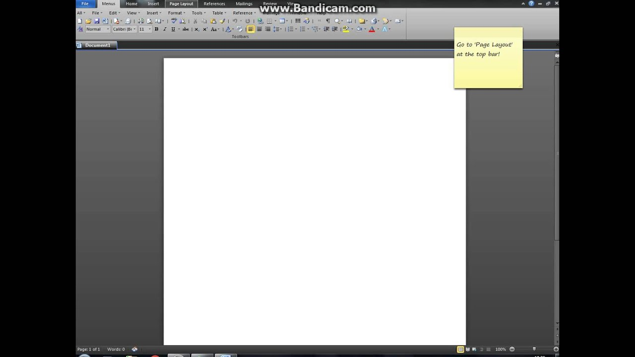 Creative Inc Tutorial How To Print Colour Paper Using Word 2010
