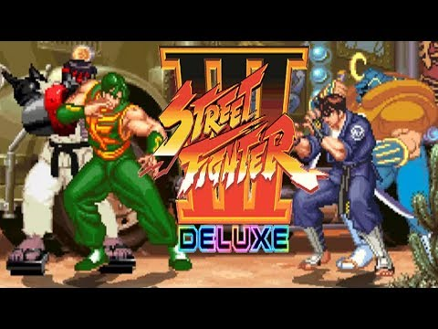 STREET FIGHTER III DELUXE - PC LONGPLAY - Dao Long And Cyber-Ryu (TEAM MODE) [NO DEATH RUN] |