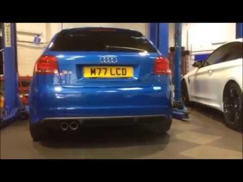 Audi S3 Milltek Cat Back Resonated vs Non Resonated