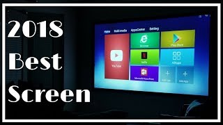 Best Projector Screen 2018 | Quality Matters | Delux Screens Review