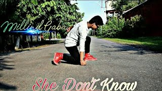 She Don't Know Millind Gaba Dance | Hip Hop Choreography | Rohit Agrawal