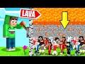TROLLING 150 People In A BEDROCK CUBE! (Minecraft)