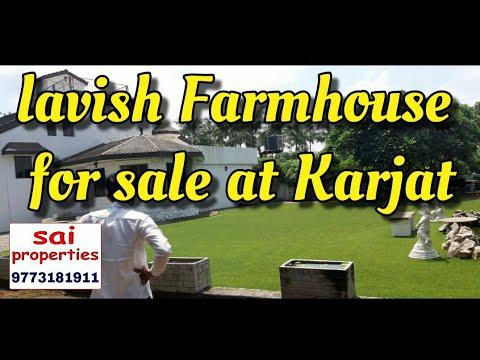 3bhk Lavish Farmhouse For Sale At Karjat Chowk Road Near Nd Studio Sai Properties Karjat 9773181911 Youtube