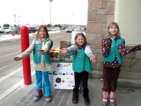 Girl Scout Cookie Booth Song