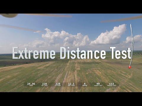 DJI Phantom 3 - Distance Test 16,700 feet