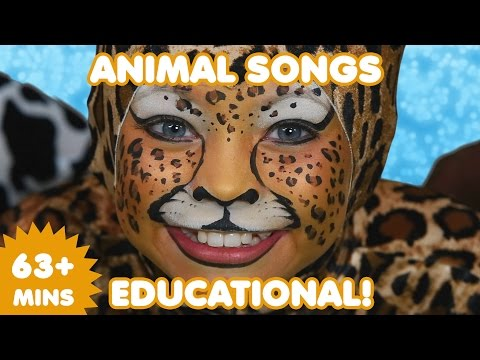 Animal Songs | 63 Mins  of Educational Kids Songs | Nursery Rhymes