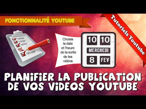 [Tuto] Comment planifier la publication de vos vidéos Youtube | Paramètre