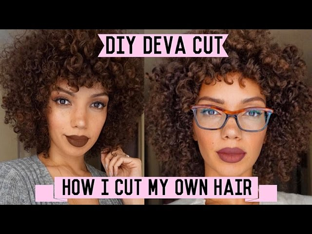 How to cut curly hair with pictures wikihow solutioingenieria Choice Image
