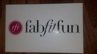 FabFitFun Unboxing| March 2013 Thumbnail