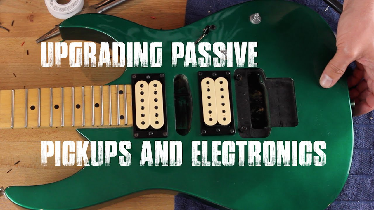 Ibanez RG 270 Electronics Upgrade YouTube - Ibanez Grg270 Wiring Diagram