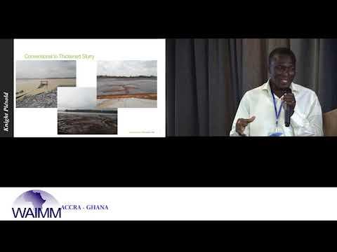 WAIC 2017 Presentation by Benoni Owusu Ansah, for Knight Piesold Consulting - Ghana