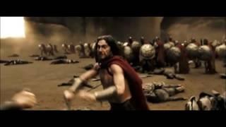 Нарезка под музыку из фильма 300 спартанцев