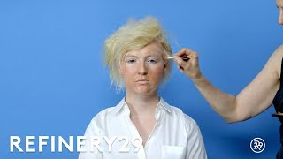 donald trump makeup transformation in 30 seconds   presidential election 2016   refinery29