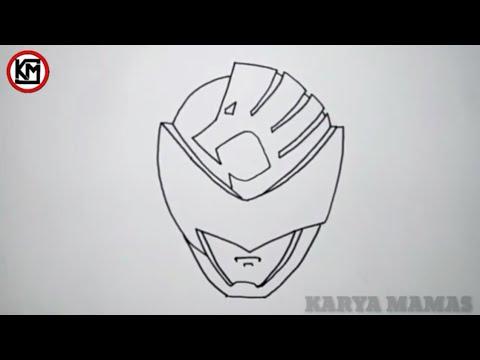 Tutorial Cara Menggambar Kyuranger Karakter Shishi Red Youtube