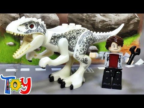 yg 쥬라기월드 인도미너스 렉스 공룡 레고 짝퉁 크레오 미니피겨 리뷰 Lego knockoff jurassicworld indominus rex dino