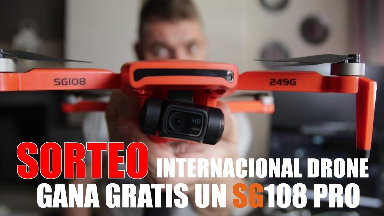 GANA UN SG108 PRO GRATIS, SORTEO INTERNACIONAL DRONE Rcgoing