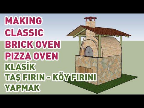 brick oven / pizza oven  /  brick oven build / taş fırın / köy fırını yapımı