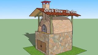 brick oven / pizza oven / brick oven build / taş fırın / köy fırını yapımı / v.01